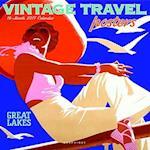 Vintage Travel Posters 2017 Calendar