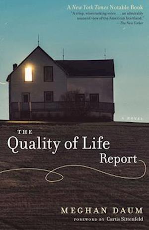 Bog, paperback The Quality of Life Report af Meghan Daum