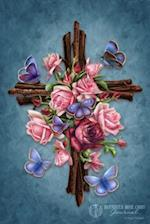 Butterfly Rose Cross Journal af Brigid Ashwood