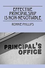 Effective Principalship Is Non-Negotiable