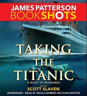 Lydbog, CD Taking the Titanic af James Patterson