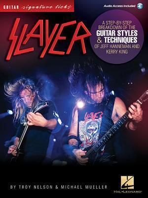 Bog, hardback Slayer - Signature Licks af Michael Mueller, Troy Nelson