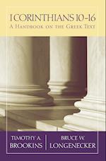 1 Corinthians 10-16 (Baylor Handbook on the Greek New Testament)