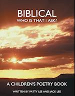 Biblical af Jack Lee, Patty Lee