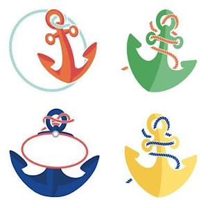 Bog, hardback S.S. Discover Anchors Mini Cut-Outs