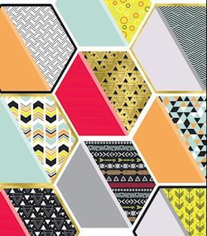 Bog, ukendt format Aim High Hexagons Cut-Outs