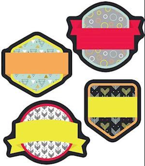 Bog, hardback Aim High Badges Mini Cut-Outs