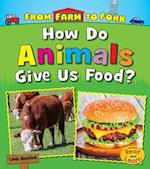 How Do Animals Give Us Food? (From Farm to Fork Where Does My Food Come From)