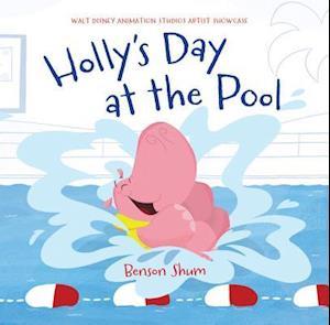 Bog, hardback Holly's Day at the Pool af Benson Shum