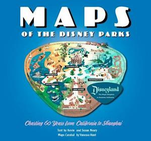 Maps of the Disney Parks af Vanessa Hunt