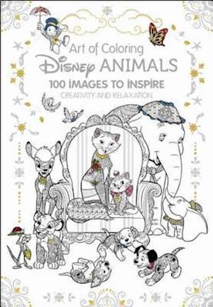 Art of Coloring af Disney Book Group, Catherine Saunier-talec