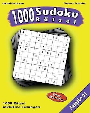 1000 Sudoku Ratsel af Thomas Schreier