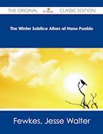 Winter Solstice Altars at Hano Pueblo - The Original Classic Edition af Jesse Walter Fewkes