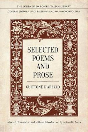 Bog, hardback Selected Poems and Prose af Guitonne D'Arezzo