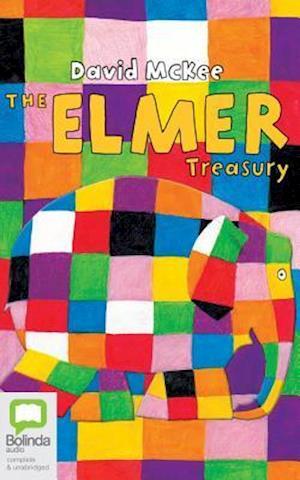 Lydbog, CD The Elmer Treasury af David McKee
