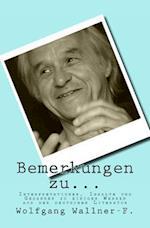 Bemerkungen Zu... af Wolfgang Wallner-F