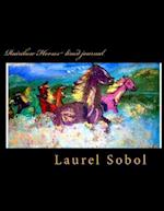 Rainbow Horses Lined Journal af Laurel Sobol