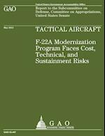 Tactical Aircraft F22a af Government Accountability Office