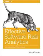Effective Software Risk Analytics