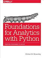 Foundations for Analytics with Python