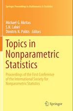 Topics in Nonparametric Statistics (Springer Proceedings in Mathematics and Statistics, nr. 74)