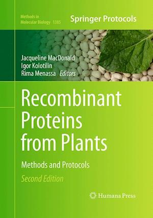 Bog, paperback Recombinant Proteins from Plants