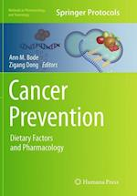 Cancer Prevention (Methods in Pharmacology and Toxicology)