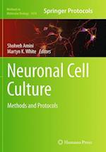 Neuronal Cell Culture (METHODS IN MOLECULAR BIOLOGY, nr. 1078)