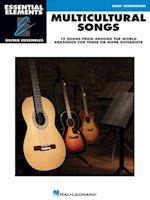 Multicultural Songs (Essential Elements Guitar Ensembles)
