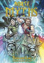 Thor and Loki (Norse Myths)