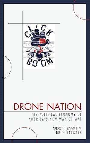 Bog, hardback Drone Nation af Geoff Martin