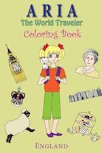 Aria the World Traveler Coloring Book af Anna Kim