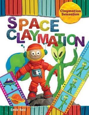 Bog, paperback Space Claymation af Emily Reid