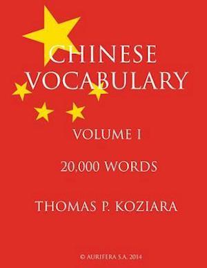 Chinese Vocabulary af Thomas P. Koziara