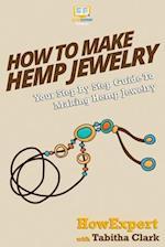 How to Make Hemp Jewelry af Howexpert Press