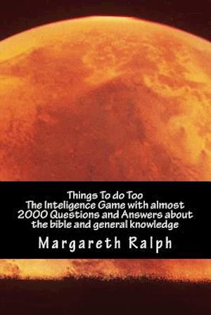 Things to Do af Margareth Ralph