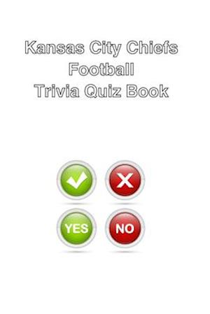 Kansas City Chiefs Football Trivia Quiz Book af Mega Media Depot