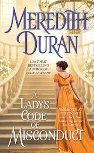 Bog, paperback A Lady's Code of Misconduct af Meredith Duran