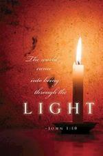 Candlelighting Christmas Bulletin (Pkg of 50)