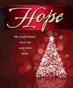 Hope Tree Advent Bulletin, Large (Pkg of 50)