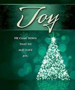 Joy Tree Advent Bulletin, Large (Pkg of 50)
