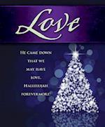 Love Tree Advent Bulletin, Large (Pkg of 50)