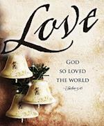 Love Bells Images Advent Bulletin, Large (Pkg of 50)