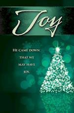 Joy Tree Advent Bulletin (Pkg of 50)
