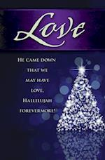 Love Tree Advent Bulletin (Pkg of 50)
