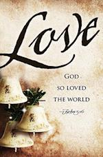 Love Bells Images Advent Bulletin (Pkg of 50)