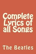 Complete Lyrics of All Songs af The Beatles