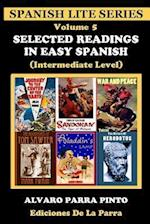 Selected Readings in Easy Spanish Volume 5 af Alvaro Parra Pinto