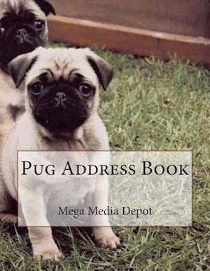 Pug Address Book af Mega Media Depot