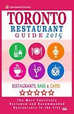 Toronto Restaurant Guide 2015 af Avram F. Davidson